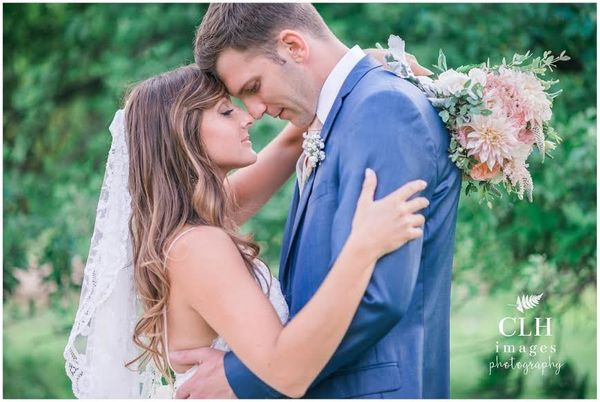 """""""Jessica and Ryan's rustic barn wedding at Burlap and Beams in Athol, New York."""" --<i>Carrie Lynn Holligan Smith</i>"""