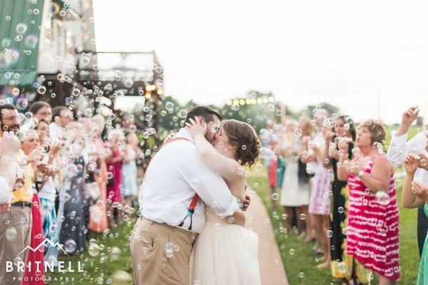 """""""Steven and Katy got married on Saturday at the beautiful Pleasant Hill Vineyards and Winery in Maryville, Tennessee."""" --&nbs"""