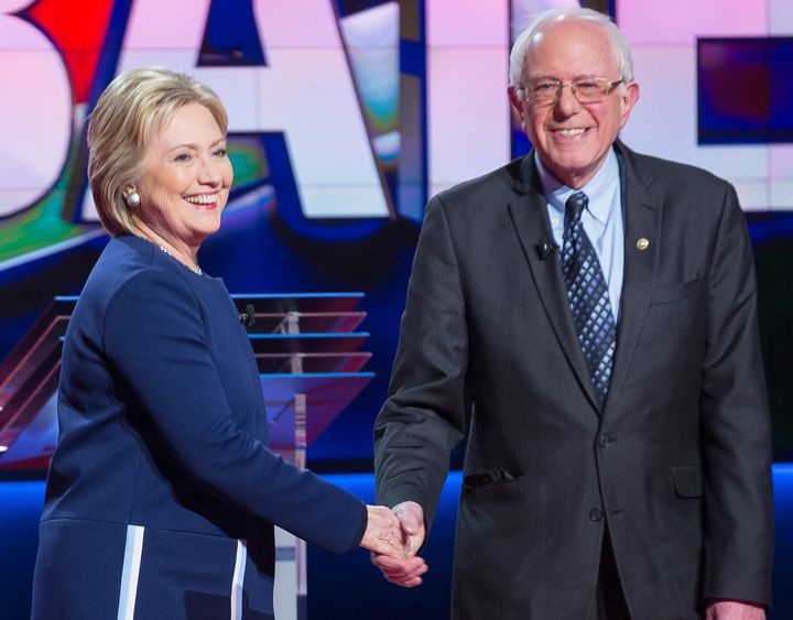 Supporters of Hillary Clinton and Bernie Sanders are working it out inthe party platform.