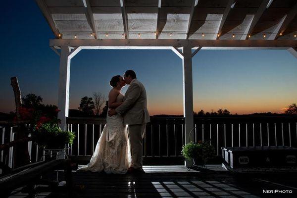 """Josh and Audra celebrated their wedding at Crooked River Wedding Barn in Gladwin, Michigan."" --<i>Neringa Ridges</i>"