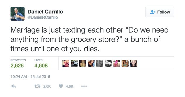 40 Hilarious Tweets About Marriage That Just Nailed It This