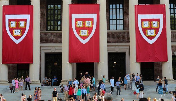 Graduation day at Harvard University