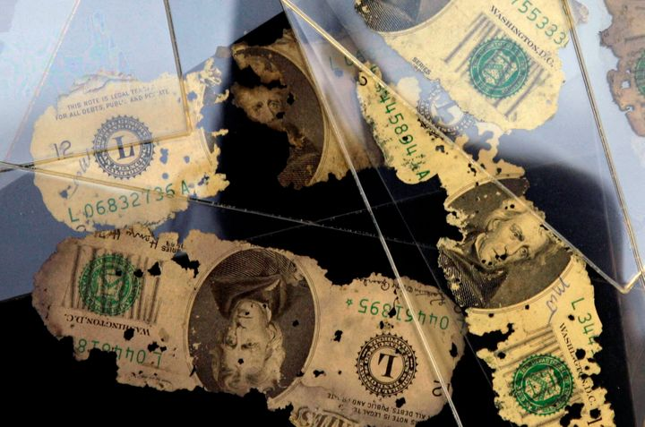 Money found buriedalong theColumbia River in 1980 linked to the D.B. Cooper case.
