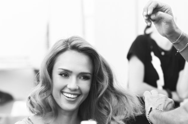 Jessica Alba On Her Beauty Essentials, Hair Tips And Red Carpet