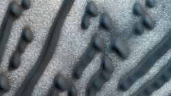 Martian Morse Code? Pictures Reveal Bizarre Dunes On The Surface Of