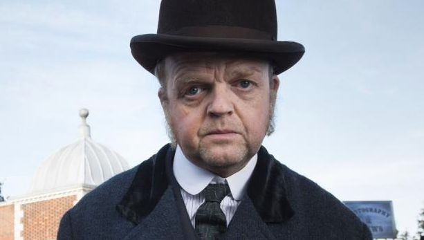 Nobody can do sweet-creepy like Toby Jones, here in 'The Secret Agent', on BBCOne this Sunday