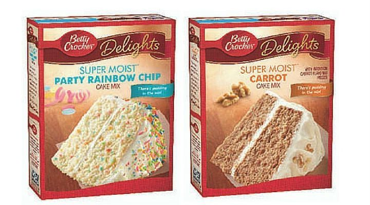 Party Rainbow Chip and Carrot Cake have been added to the recall.