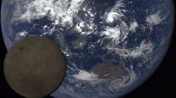 Watch The Moon Photobomb NASA's Spectacular Shot Of