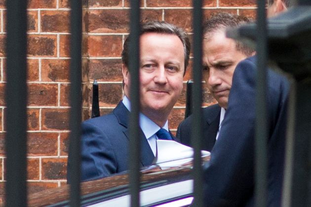 Cameron leaving No.10 for his school
