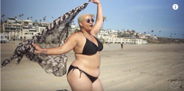 This Woman Never Felt 'Good Enough' To Wear A Bikini -- Until