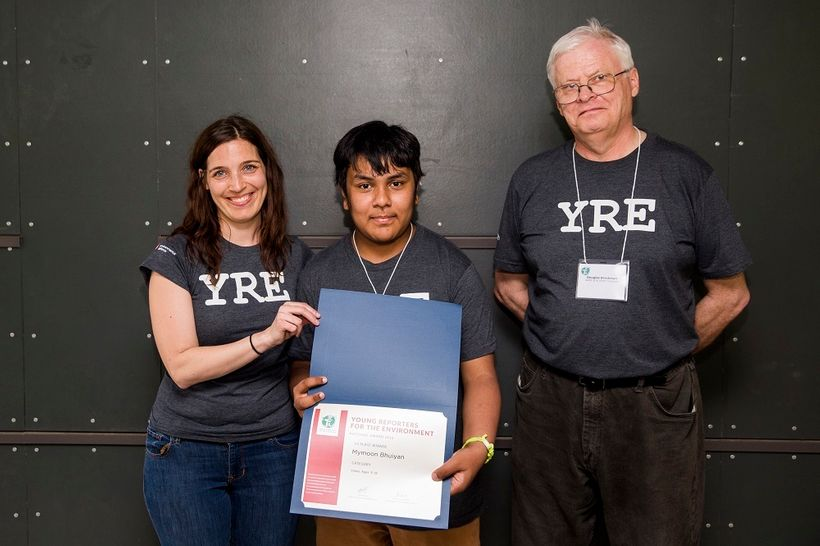 Author: Mymoon Bhuiyan &#x2F; <em>Young Reporters for the Environment</em> Third place winner <em>Category: Video 15-18 years