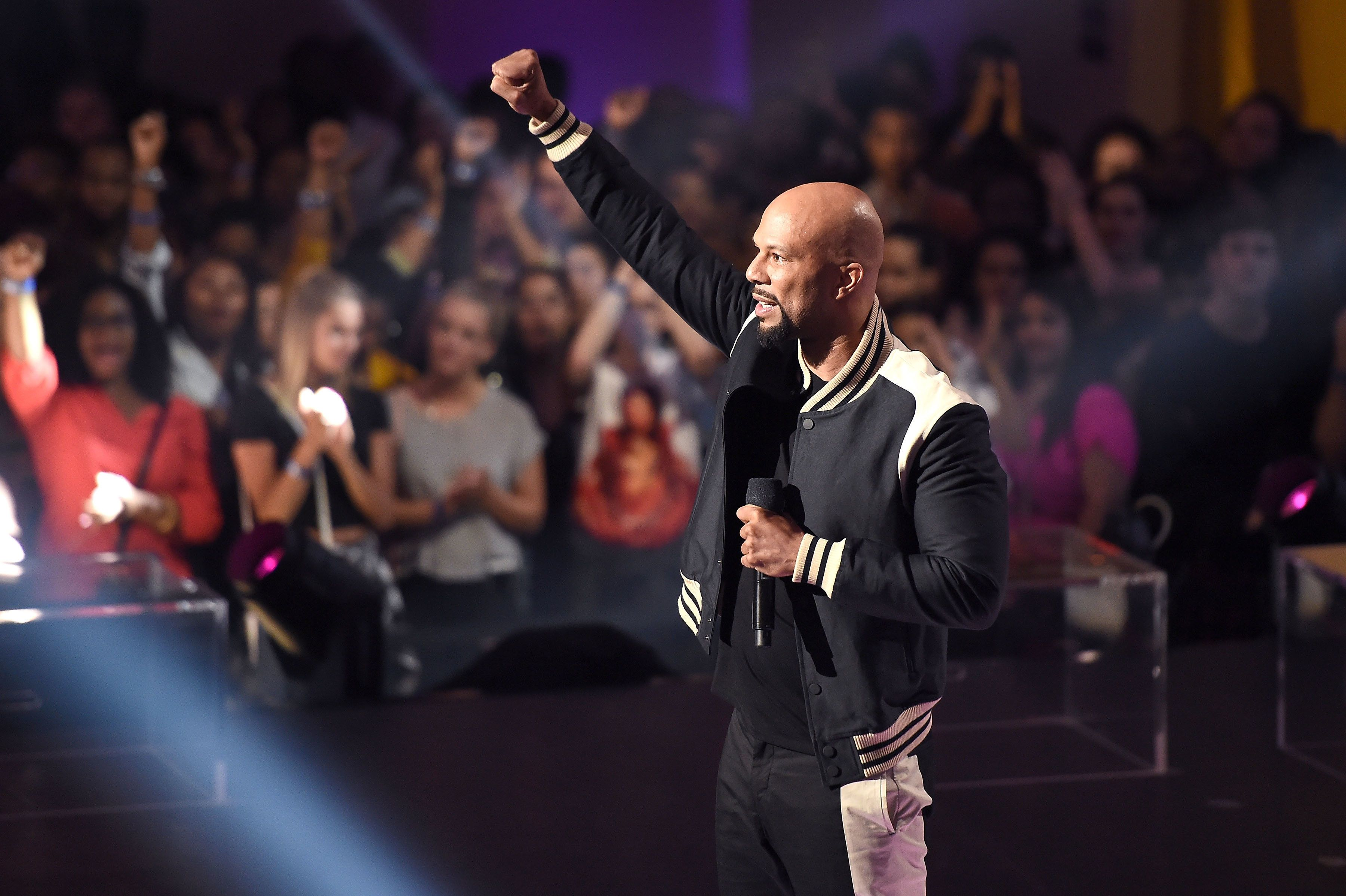 NEW YORK, NY - JULY 11:  Common performs onstage during the VH1 Hip Hop Honors: All Hail The Queens at David Geffen Hall on July 11, 2016 in New York City.  (Photo by Nicholas Hunt/Getty Images for VH1)