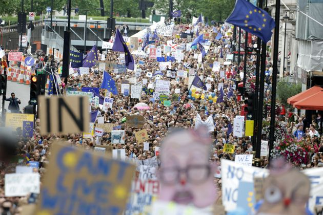 Parliament isset to debate a call for a second EU referendum, after a petition gained over for...