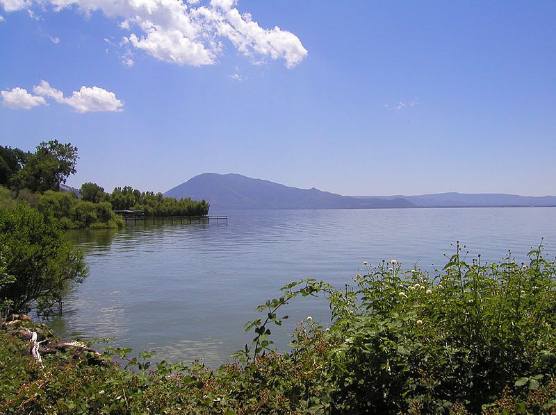 awesome views at Clear Lake State Park in California.