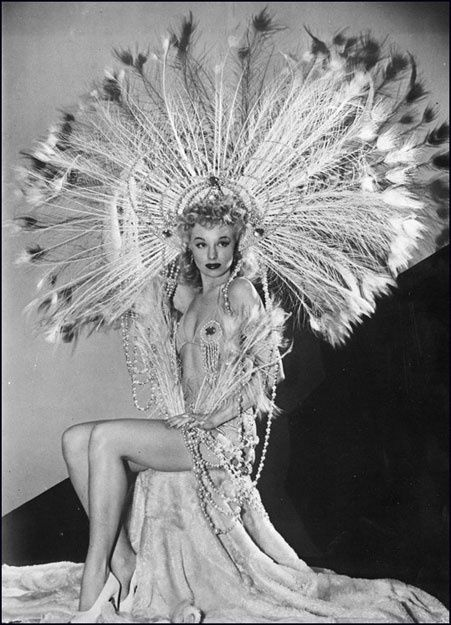 """Burlesque star Lili St. Cyr and the subject of the biography """"Goddess of Love Incarnate"""""""
