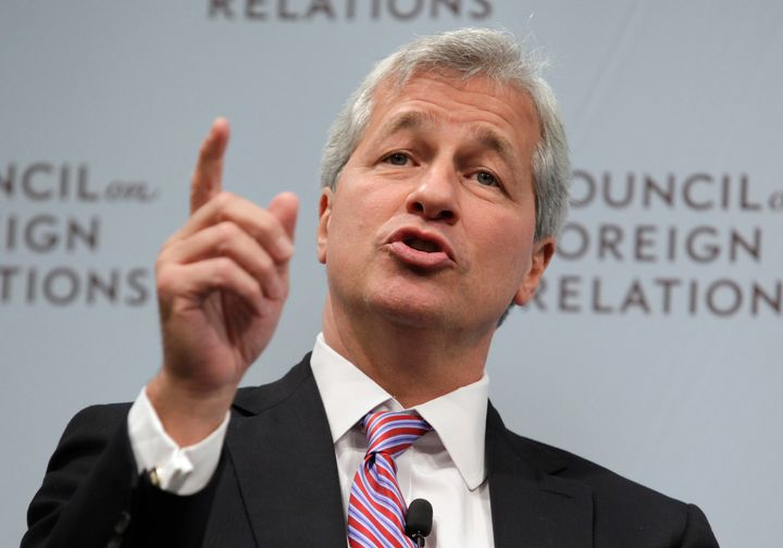 Jamie Dimon, chairman and chief executive of J.P. Morgan Chase, says the bank's pay increase for its lowest paid em