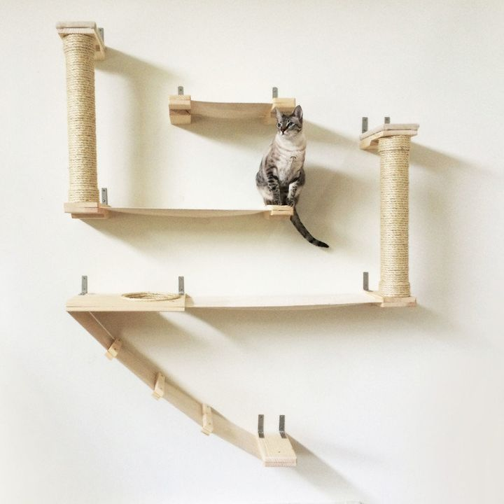 """<a href=""""http://www.catastrophicreations.com/product/roman-cat-fort/"""" target=""""_blank"""">The Roman Cat Fort, $300.00</a>"""