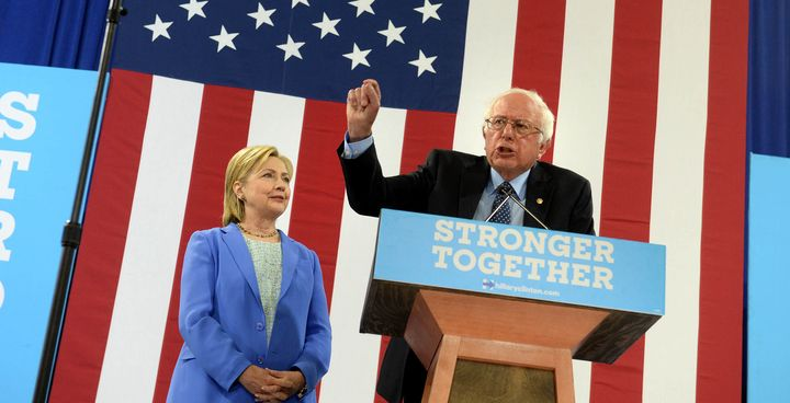 Sen. Bernie Sanders (I-Vt.) endorsed former Secretary of State Hillary Clinton in New Hampshire on Tuesday.
