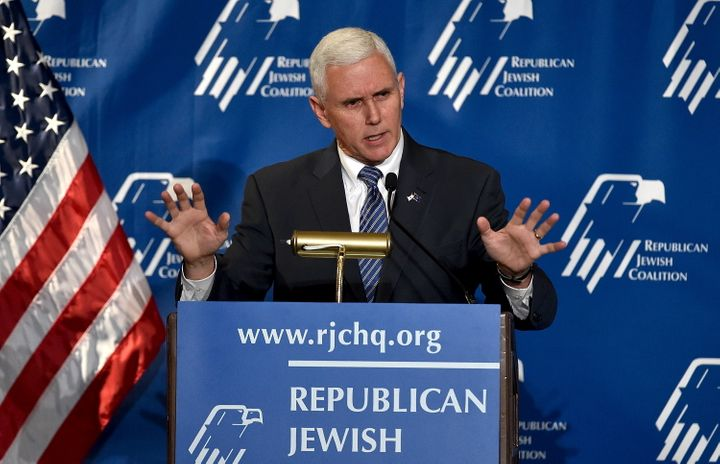 """Some in the media are saying that Indiana Gov. Mike Pence has a """"95 percent"""" chance of being Donald Trump's running mate, wha"""