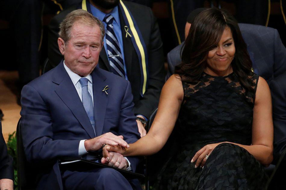 Did George Bush Build A Wall