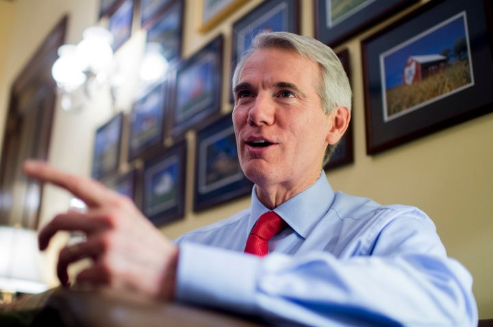 Sen. Rob Portman (R-Ohio)has received more support from outside groupsthan any other 2016 Senate candidate so far