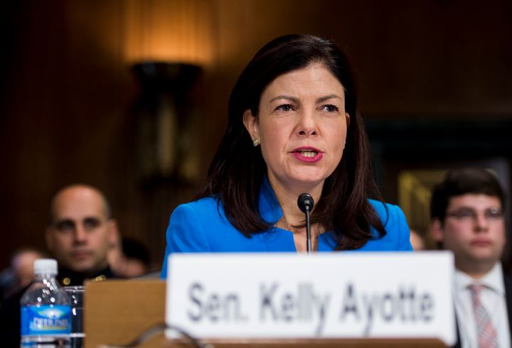 Sen. Kelly Ayotte (R-N.H.) is the second-biggest recipient of outside group support in the 2016 Senate elections.