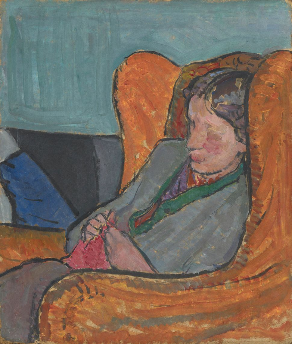 """Virginia Woolf,"" by Vanessa Bell (née Stephen), oil on board © National Portrait Gallery, London"
