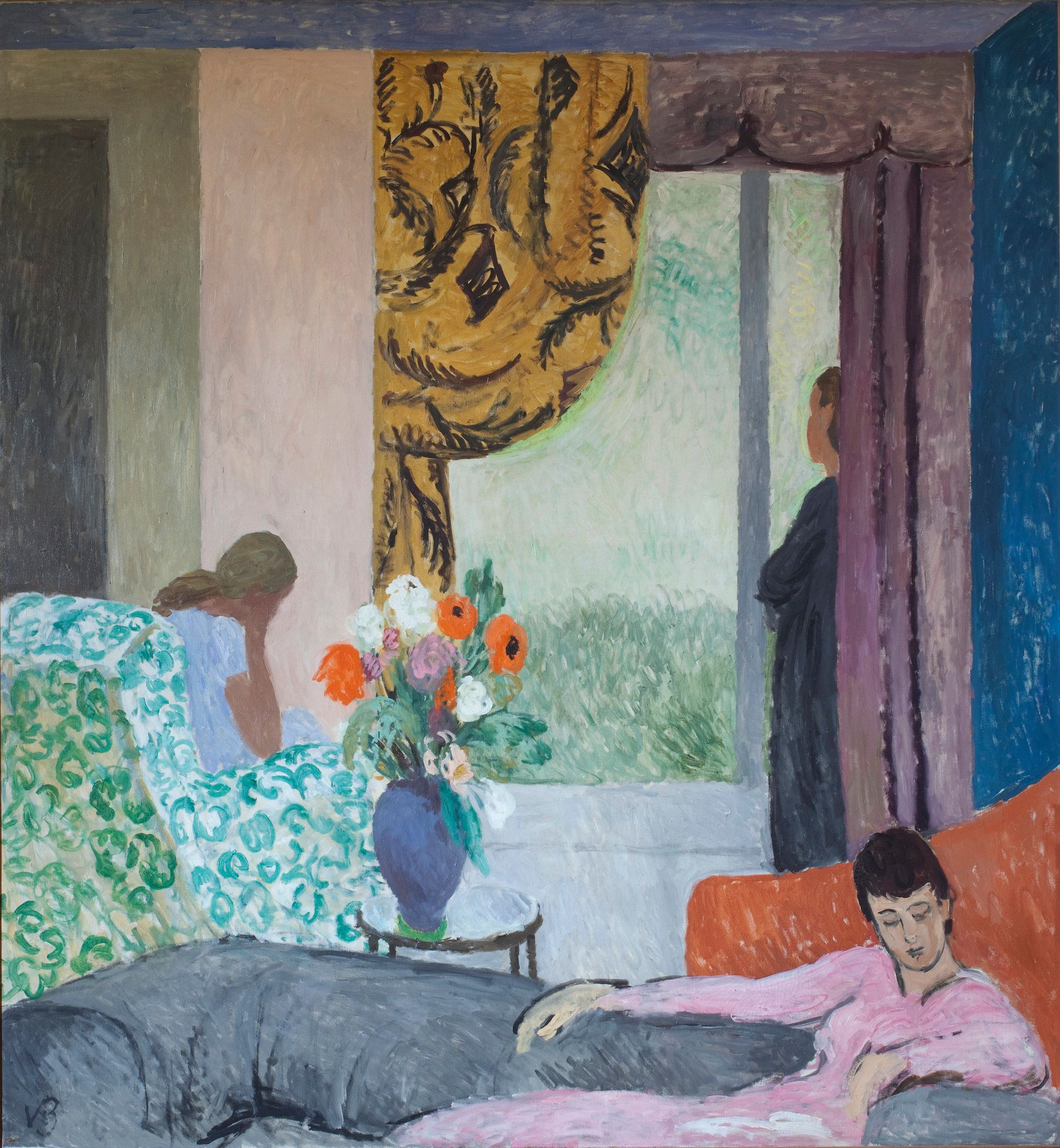 Vanessa Bell, The Other Room, late 1930s, 161 x 174 cm, Private Collection, © The Estate of Vanessa Bell, courtesy of Henrietta Garnett