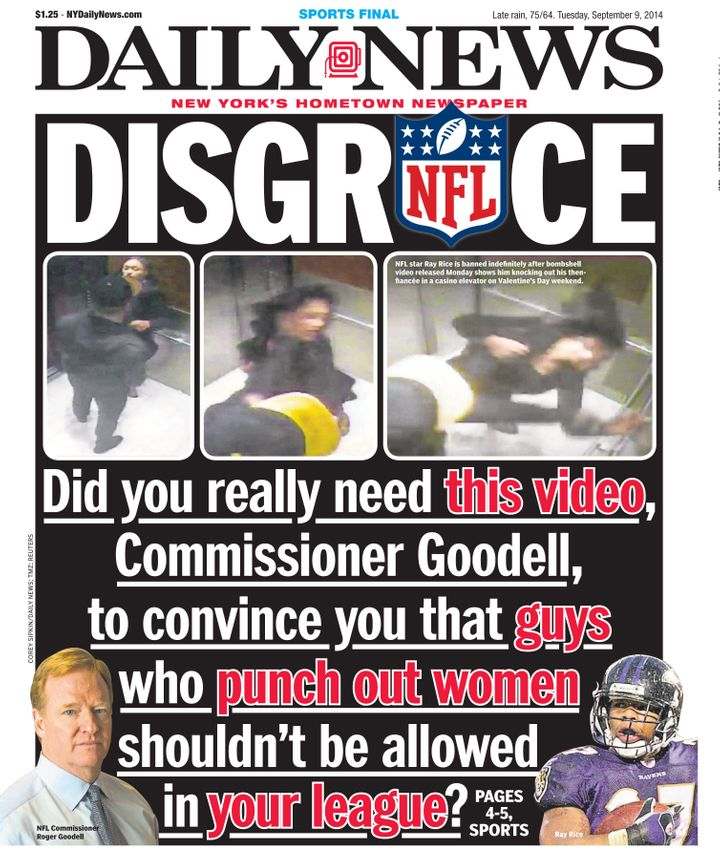The NFL faced intense scrutiny in 2014 over how it handled Ray Rice's domestic abuse of his fiancee.