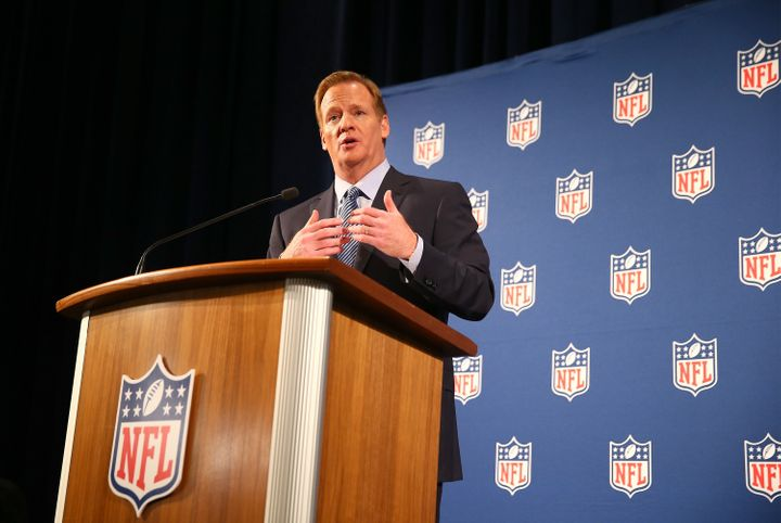 NFL Commissioner Roger Goodell has faced criticism over the league's attitude toward sexual violence.