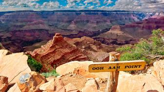 'Ooh Aah Point, Grand Canyon, Arizona, USA'