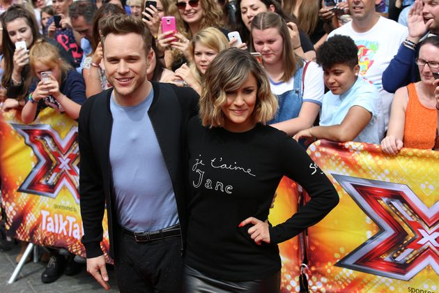 Olly Murs and Caroline Flack only lasted one