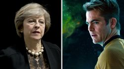 'Ask Yourself, What Would Kirk Do,' Star Trek's Simon Pegg Tells Theresa