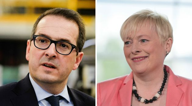 Owen Smith (left) and Angela Eagle (right) are challenging