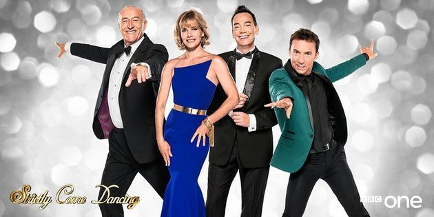 Len with fellow judges Darcey Bussell, Craig Revel-Horwood andBruno