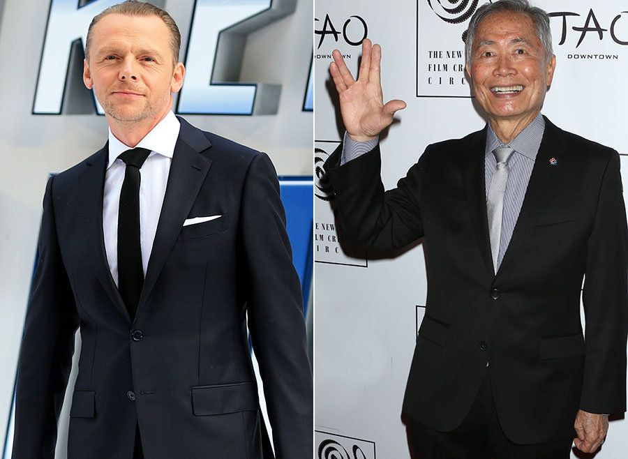 Simon Pegg Speaks Out Over 'Star Trek' Actor George Takei's