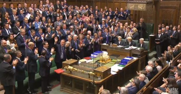 David Cameron Uses Final PMQs To Tell MPs 'I Was The Future Once' As He Receives Standing