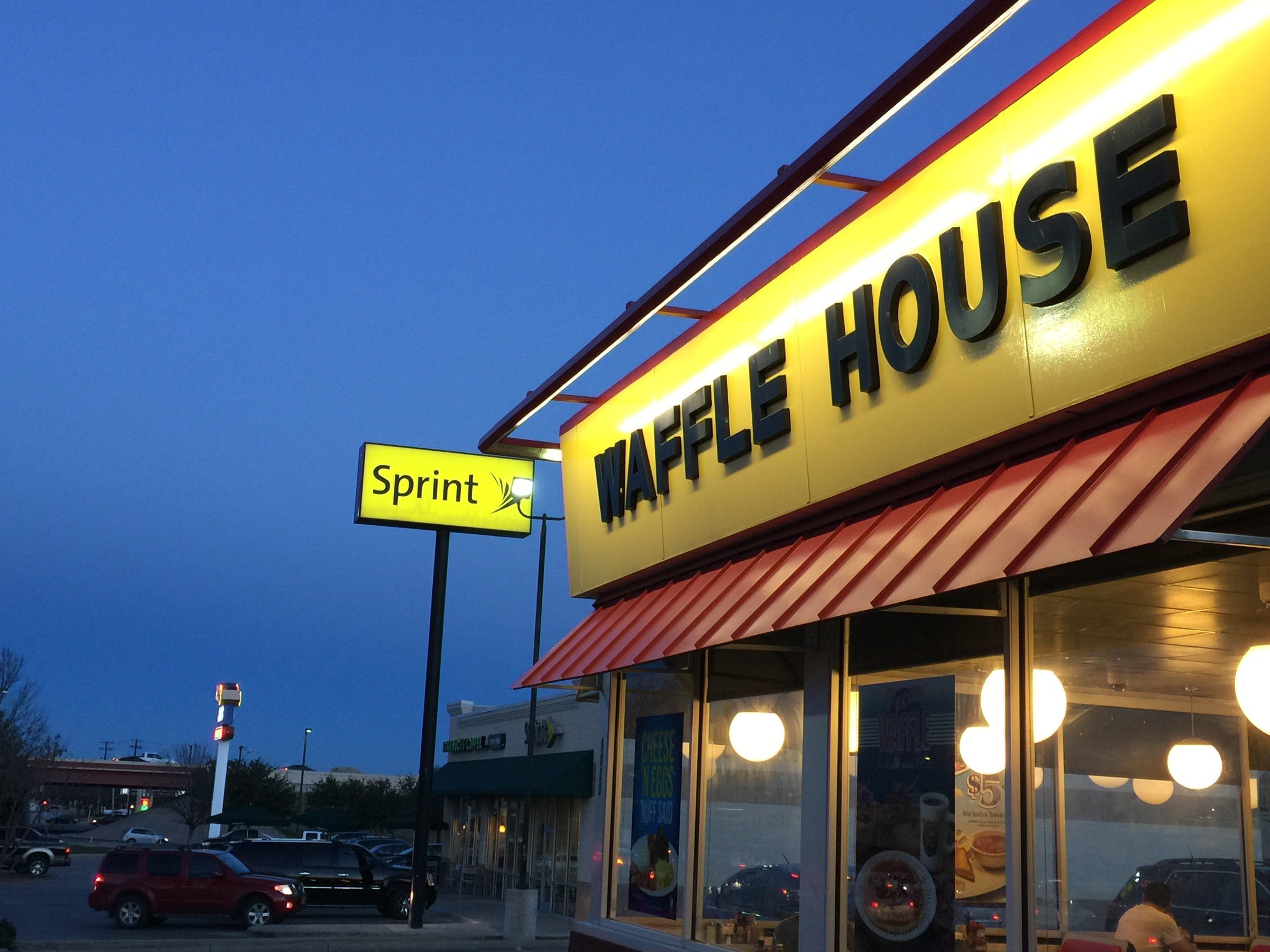 Police in Texas say a robbery suspect armed with an AK-47 assault rifle was critically shot last week by a Waffle House