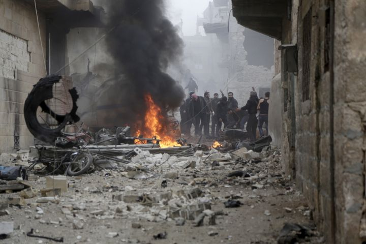 The Kremlin's major aerial bombing campaign started last September in support ofSyrian President Bashar al Assad