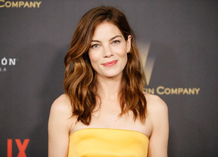 Actress Michelle Monaghan had a cancerous mole removed from the back of her leg after her husband urged her to get the mole checked out by a doctor.