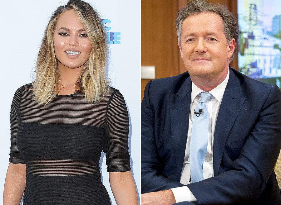 Chrissy Teigens Takes Down Piers, Over His Jennifer Aniston