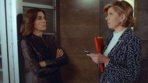 "Ten-time Emmy nominee Julianna Marguiles bid adieu to Alicia Florrick after seven seasons on ""The Good Wife,"" and the Emmys c"