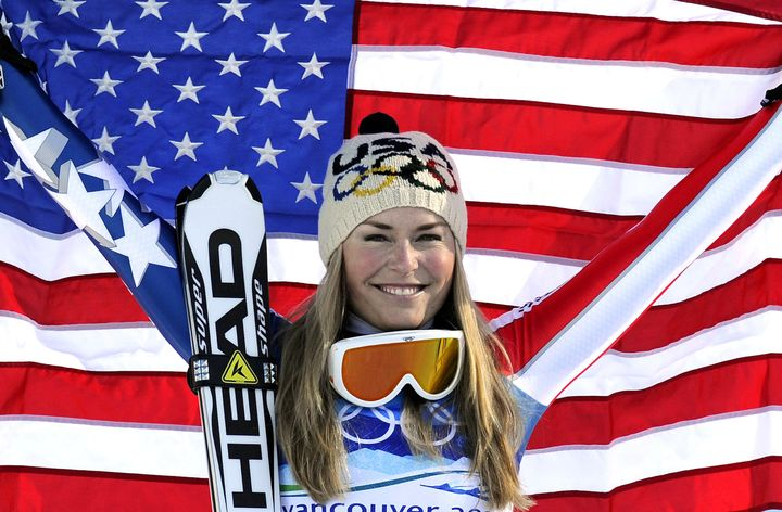 """Olympic gold medalist Lindsey Vonn wants her new bookto """"empower women."""""""