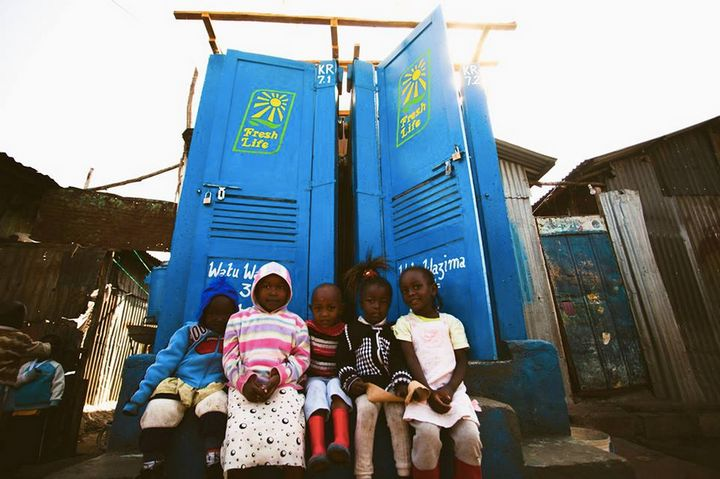 Company Brings Toilets To Kenya Slums, Turns Waste Into