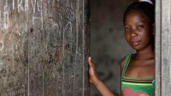 TANZANIA - FEBRUARY 06:  Girl in Kilwa Kivinje village in Tanzania on February 06, 2009.  (Photo by Eric LAFFORGUE/Gamma-Rapho via Getty Images)