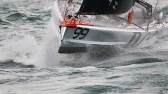 Hugo Boss Skipper Sails in the worlds most dangerous race