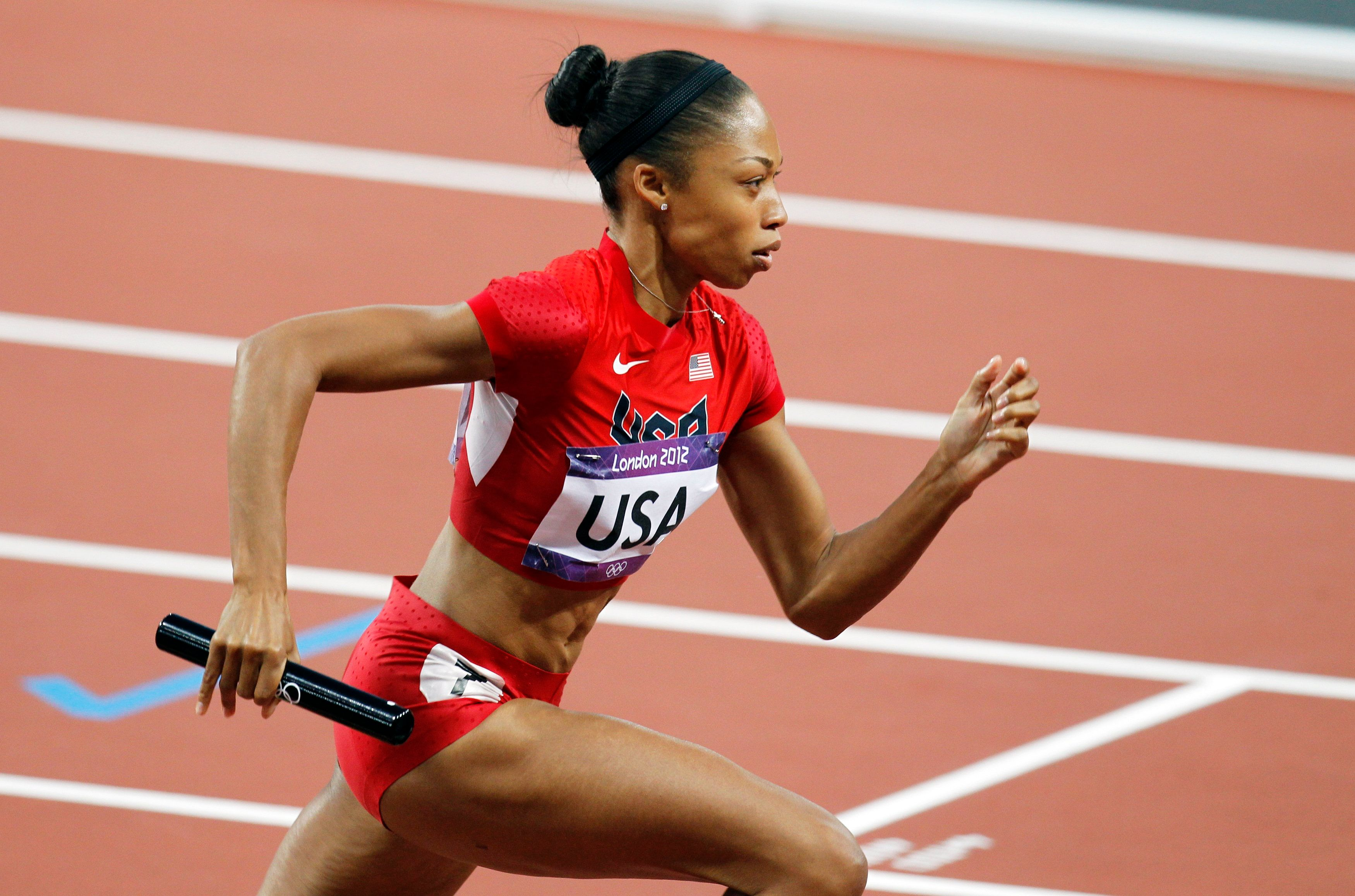 World class sprinter Allyson Felix has some tips for the weekend warrior.