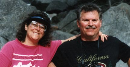 Phil Konstantin and his wife, Robyn Mellon, at Yosemite National Park in 1998.