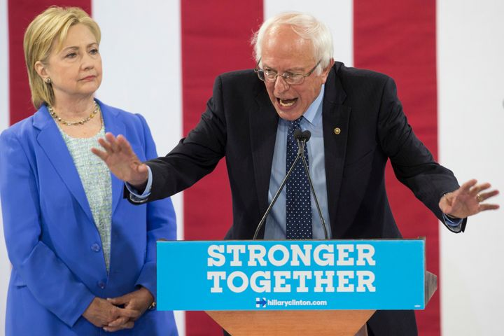 Sen. Bernie Sanders (I-Vt.) endorsed former Secretary of State Hillary Clinton after a long primary battle.