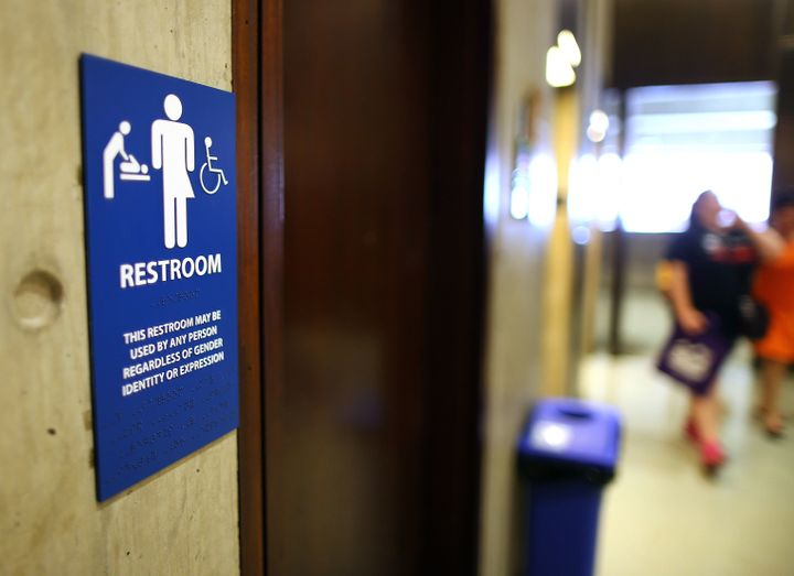 Supreme Court About To Enter Legal Fight Over Trans Rights And Bathroom Access Huffpost